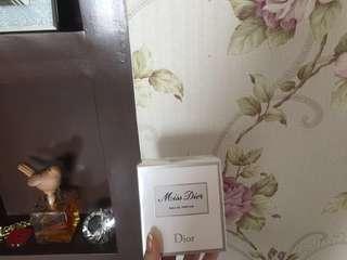 Authentic Miss dior perfume