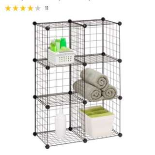 Fun Storage Steel Cubes! Design your own shelf