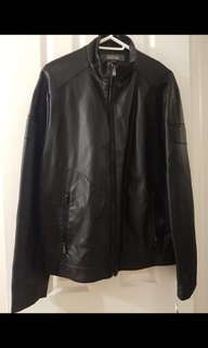 BNWT Kenneth Cole Leather Jacket