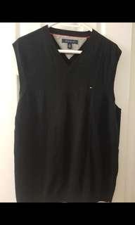 Tommy vest & H&M sweater