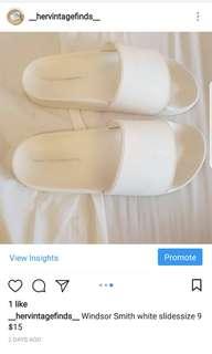 Winsdor Smith White Slides