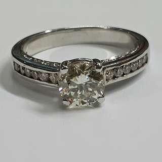 1.10 Carats Diamond Engagement Ring