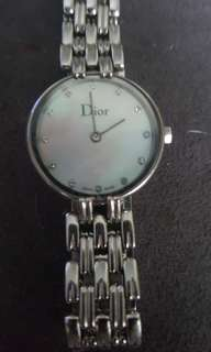Timeless, gorgeous Dior watch