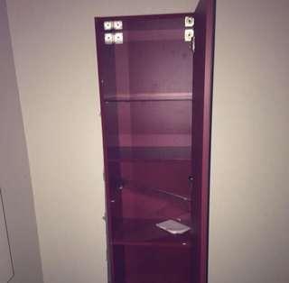Mirror shelves