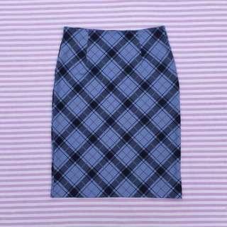 90s Tartan Skirt