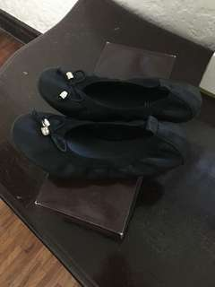 Ballet Flats [Black - Size 9 US]
