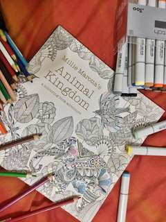 Adult Coloring Book - Millie Marotta's Animal Kingdom