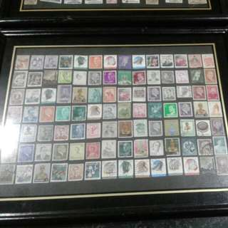Mixed Framed Stamp