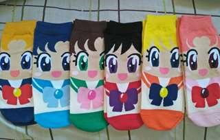 SailorMoon Warriors socks (6pairs)