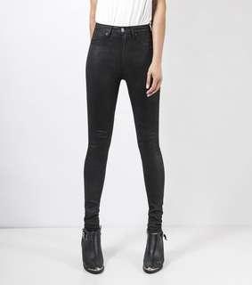 ZIGGY DENIM | SWIZZLE STICKS | Size 24 | 6 | XS | Women's Black Denim Jeans