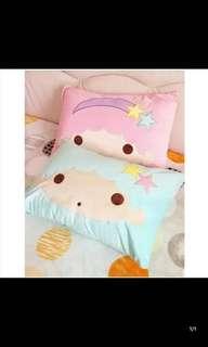 Sanrio Little Twins Star 枕頭套 👉🏻包郵👈🏻