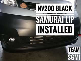 NV200 Black Samurai Lips Done! ** INSTALLATION PROVIDED**