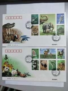 FDC 2000-3 Wild Animals