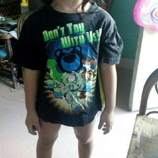Toddlers toy story tshirt