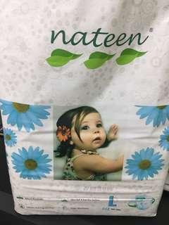 Nateen L tape diaper