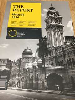 WTS Oxford Business Group The Report Malaysia 2016
