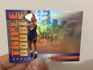 美國NBA明星咭 (Triple-Double 雷射系列)
