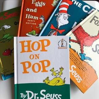 Dr. Seuss 兒童書一套5本