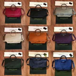 Authentic longchamp Neo small/medium Available