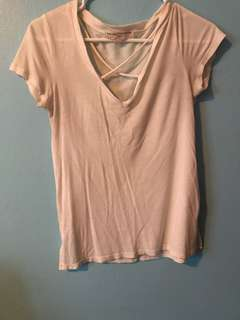 Urban Outfitters Criss-Cross Tee