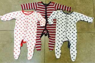 Mothercare Sleepsuits Bundle