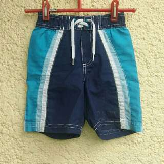 Authentic old navy toddlers board shorts with brief