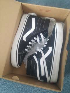 Black Old Skool Vans (high top)
