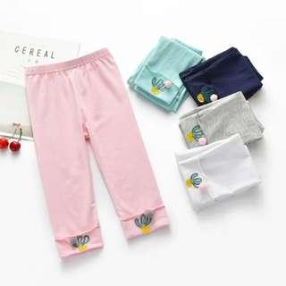 Kids fashion girl pants