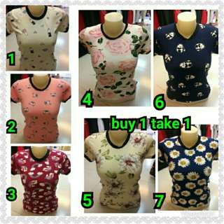 Buy 1 take 1 blouse  Fit up to M Sale price 150