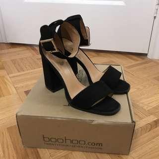 Boohoo block heels