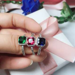 Pandora colored ring