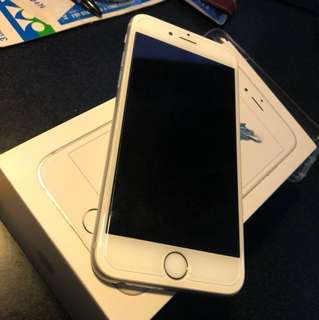 iphone 6s 64gb silver (無花) ios11.3