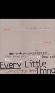 Grab Now! Near Mint * Every Little Thing Remixes Analog Box Set