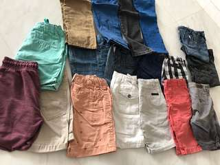 3-4 yrs Toddler(boy) Pants to let go
