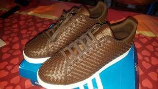 adidas stan smith weave brown original size 45 new