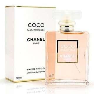 Chanel Mademoiselle 100ml