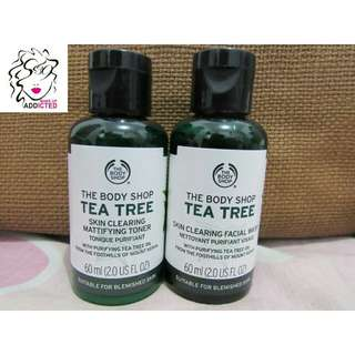 The Body Shop Tea Tree Toner and Facial Wash 60ml