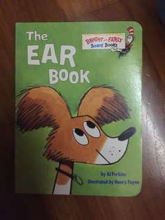 Board Book : Ear book by Dr Seuss Bright and Early