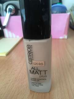 Foundation oil free catrice matte plus
