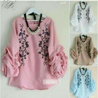 baju wanita top blouse modis