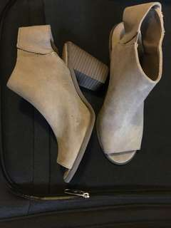 New Suede ankle boots