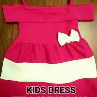 Kids Dress Freesize 1-2yrs old 2 for 350 bawal isa