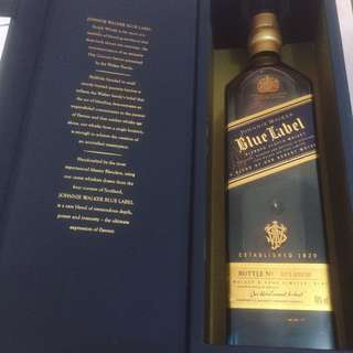 Jhonnie walker blue label
