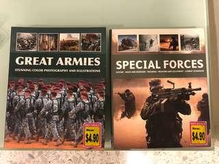 Books - Armies & Special forces