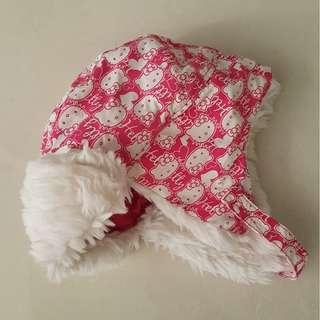 H&M Hello kitty Winter hat 4-5yrs old