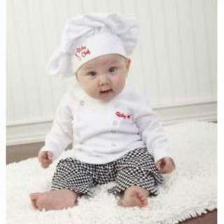 Baby Chef 3pc Costume Set