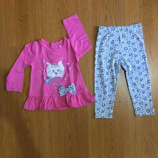 Terno - Baby Gear Top and Leggings Set