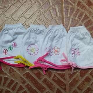 set of shorts