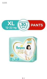Pampers Premium Care Pants XL