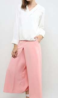 FV Basics Kit Flat front Culotes in Salmon